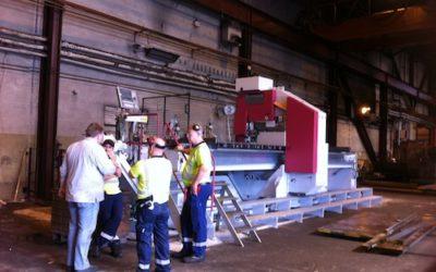 Uddeholm förnyar sin maskinpark med LPS 25–125-6A
